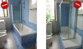 trasformare una doccia in vasca da bagno i vantaggi della conversione da vasca da bagno a doccia