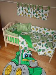 Tractor Crib Bedding Bedroom Deere Bedding For Tractor Enthusiasts