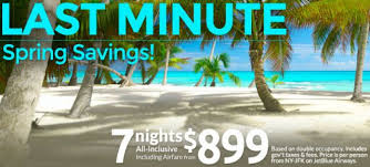last minute all inclusive vacation deals sportstle