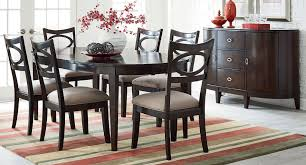 serenity oval dining room set standard furniture furniture cart