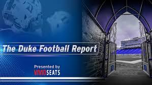 the duke football report presented by vivid seats duke