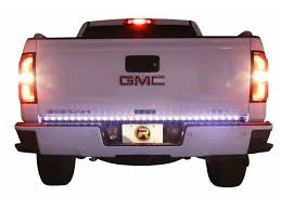 putco pure tailgate light bars realtruck com