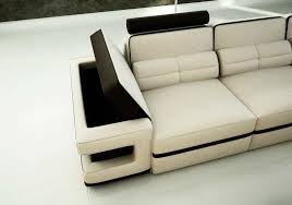 cream sectional sofa modern cream leather sectional sofa vg122 leather sectionals