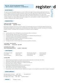resume exles for registered registered resume sle nursing template resume