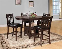 homelegance 2423 36 junipero counter height dining table chairs