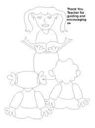 teacher u0027s day coloring worksheets for kids 6