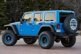 modified jeep wrangler jeep wranglers of the 2014 easter jeep safari unfinished man
