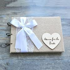 Rustic Wedding Guest Book Amazon Com Personalized Rustic Wedding Guest Book Bridal Shower