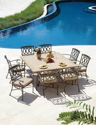 Winston Outdoor Furniture Cast Aluminum Dining Archives Tubs Fireplaces Patio