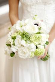 gallery white and green bridal bouquet deer pearl flowers
