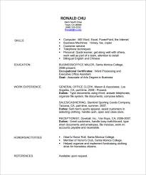 Resume Example Templates by Fashion Designer Resume Template U2013 9 Free Samples Examples