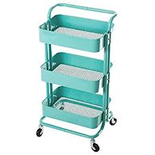 Rolling Carts Ikea Amazon Com Raskog Home Kitchen Bedroom Storage Utility Cart