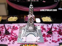 Paris Centerpieces Paris Themed Birthday Party 2 Best Birthday Resource Gallery