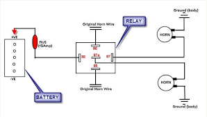 bosch relay wiring diagram for horn wiring diagram and schematic