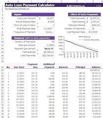 personal loan amortization table auto amortization schedule ivedi preceptiv co
