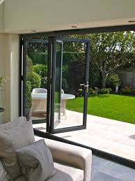 Framing Patio Door Aluminium Framing Can Create A Bi Folding Door System With Panels