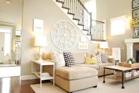 furniture glamorous living room design idea with cream sofa
