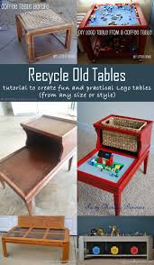 Diy Lego Table by 5 Diy Ideas To Recycle Old Tables Into Fun And Practical Lego Tables