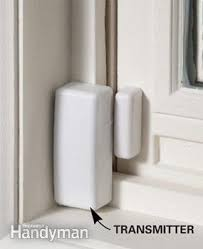 diy home security systems that you can do right now the family  with wireless transmitter mounted on window from familyhandymancom