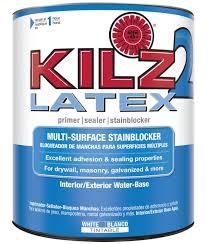 kilz 2 1 qt latex interior exterior primer walmart com