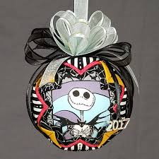 skellington ornament ornament quilted