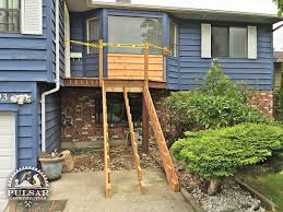 deck u0026 patio stairs surrey pulsar construction