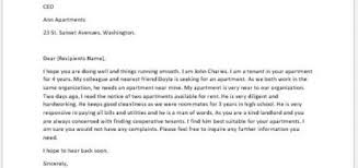 landlord recommendation letter landlord and tenant relationship 5