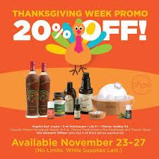 thanksgiving online deals thanksgiving week deals on essential oils odds u0026 evans