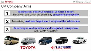 toyota auto company cv company briefing toyota global newsroom