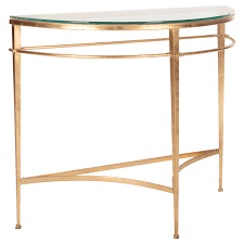 Gold Console Table Metal Console Table With Half Moon Console Table With Gold Console