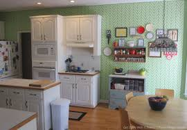 wall stencils in kitchens and laundry rooms painted wall decor