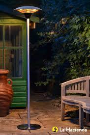 outdoor electric patio heaters la hacienda 69503 halogen freestanding electric patio heater