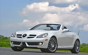 mercedes white mercedes benz slk class review and photos