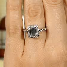 vintage emerald cut engagement rings engagement rings vintage nikola engagement ring
