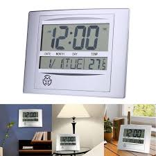 Digital Atomic Desk Clock Atomic Digital Wall Clock Large Display Cool Jimei H Simple