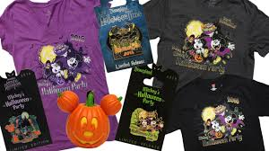 your first look at mickey u0027s halloween party merchandise coming to