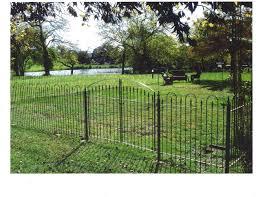 custom wrought iron garden spear design gate 6 u0027 w x 3 u0027t