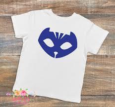 cay boy cat boy shirt pj masks pj masks shirt kids tee