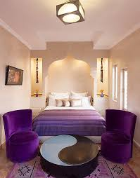 Bedroom Purple 33 Dreamy Moroccan Bedrooms That Blend Wealthy Color With Modern