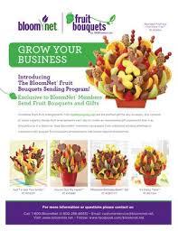 send fruit bouquet fruit bouquets bloomnet marketing brochure by bloomnet issuu