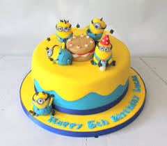 cars characters yellow boys celebration cakes