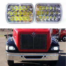 led headlights 2x for international ihc headlight assembly 9200