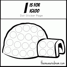igloo coloring snapsite