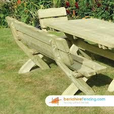 country style bench 900mm x 1800mm x 700mm natural berkshire fencing