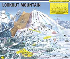 Map Of Colorado Ski Resorts by Sunshine Village Trail Maps U0026 Sunshine Village Ski Resort Trail