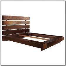 modren platform bed frames reclaimed wood barn frame by wearemfeo
