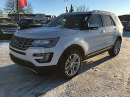 Ford Explorer White - new 2017 ford explorer limited 4 door sport utility in calgary ab
