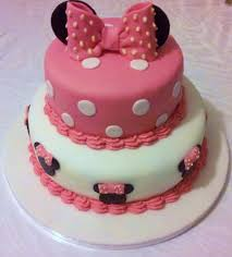 minnie mouse tiered birthday cake image inspiration of cake and