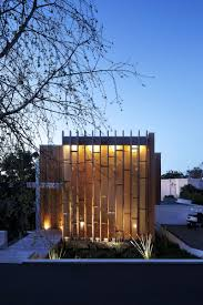 eco friendly house modern house design with narrow style with