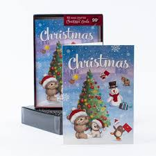 boxed christmas cards boxed christmas cards hugs tree pack of 10 only 99p